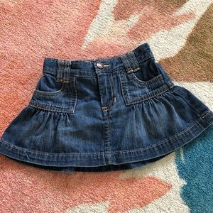 Old Navy jeans skirt size 12-18